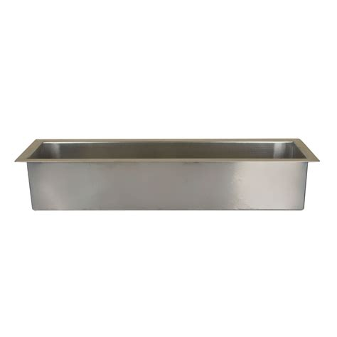 Trough Kitchen Sink Executive Zero Radius Stainless Steel Trough Sink Kitchen