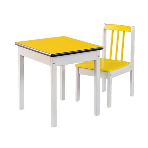 Meja Belajar Set jual oscar furniture bambini set meja belajar anak kuning harga kualitas terjamin