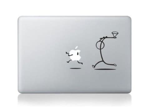 Macbook Deckel Aufkleber by 33 Besten Apple Logo Verzieren Bilder Auf