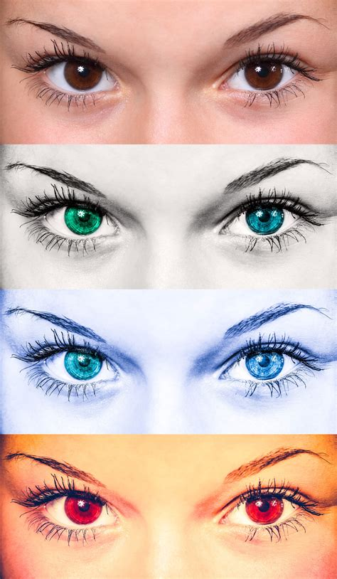 can you change the color of your can you change your eye color on command rhesus negative