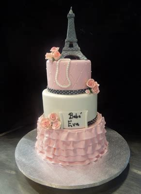 Eiffel Tower Baby Shower Cakes by Baby Shower Cake Ideas Cake Fiction