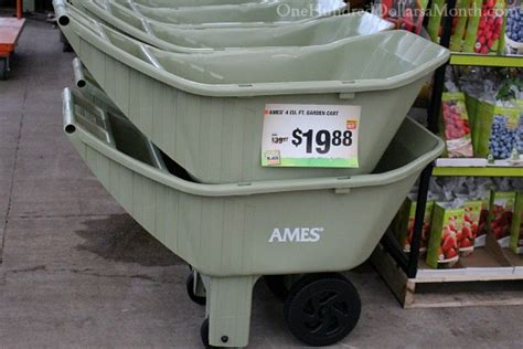 Ames Garden Cart Home Depot by Sweet Deals At The Home Depot Plant And Garden Sale One