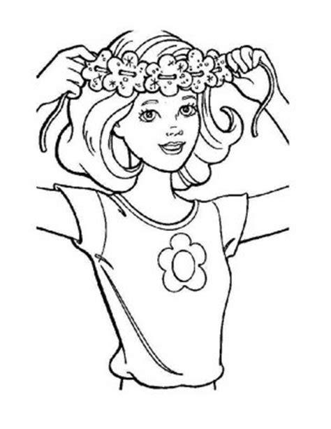 barbie head coloring page 91 barbie head coloring page barbie mermaid