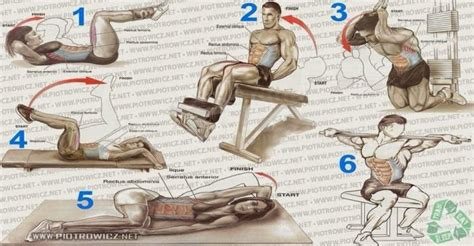 best exercises for six pack abs workout be health and fit
