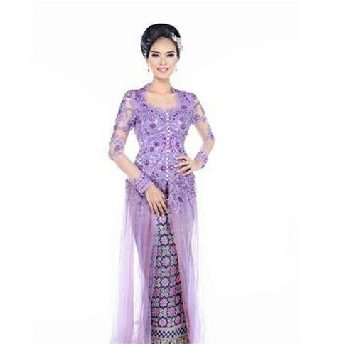 Baju Kebaya Pendek Kartika Putri 17 contoh kebaya modern ala putri indonesia 2018 info kebaya modern