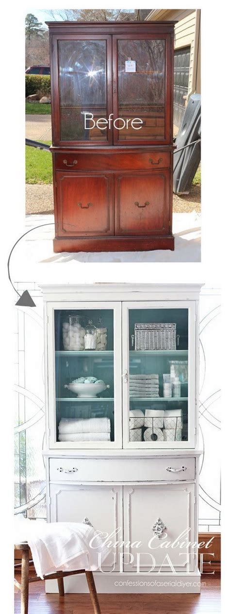 china cabinet makeover ideas awesome diy furniture makeover ideas genius ways to