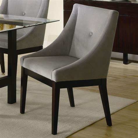 dining room sofa coaster 102232 grey fabric accent chair steal a sofa