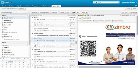 tutorial servidor de email zimbra servidor de email zimbra pacote de colabora 231 227 o zimbra