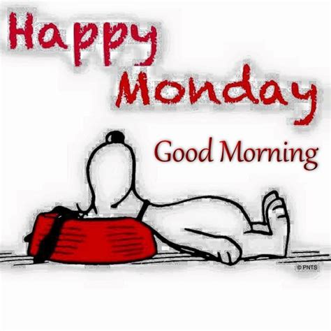 More On Monday The And Times Of The Thunderbolt Kid By Bill Bryson by Happy Monday Morning Snoopy Quote Day