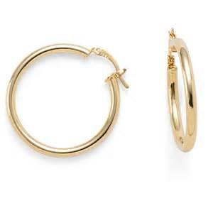 hoop studs oro bello 30mm hoop earrings jewelry fashion