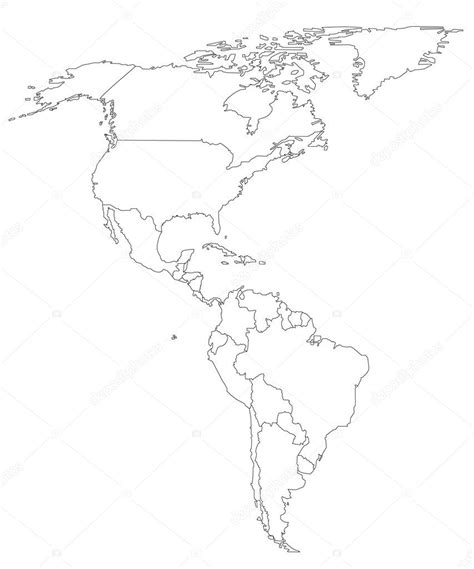 printable maps north america gallery printable map of north and south america