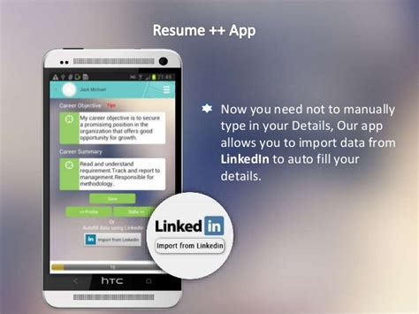 app resume resume ideas
