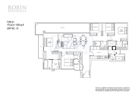 st regis residences singapore floor plan robin residences newlaunchconnect sg singapore new