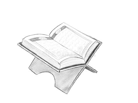 Alquran Black And White Al Quran Illustration With Sketch Style And Black And