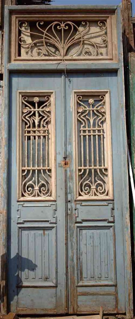 antique interior doors antique narrow doors with ironwork narrow colonial doors with iron insets this would be such a better alternative to a