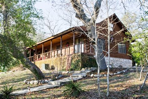 Cabins At Smith Creek by Clear Water Log Home Wimberley Lodging Wimberley