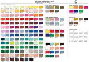 vallejo paints color chart image mag