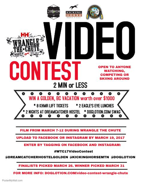 Video Sweepstakes - wtc video contest finalists doglotion com