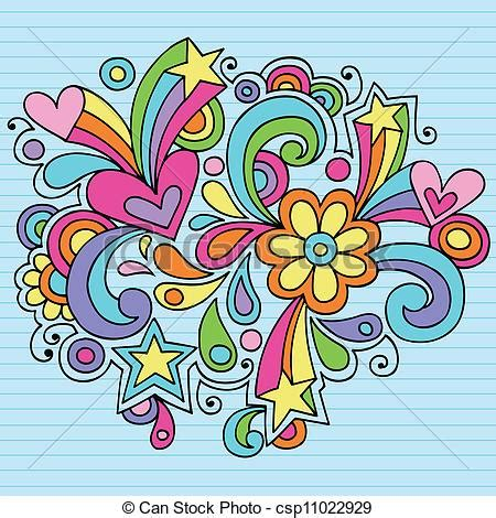 imagenes hippies vector flower power clip art free flower power groovy doodles