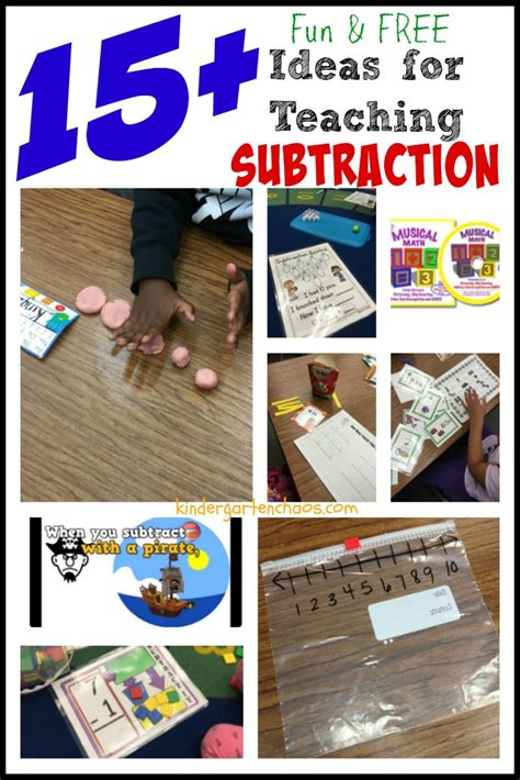 kindergarten activities on pinterest addition and subtraction kindergarten pinterest 1000