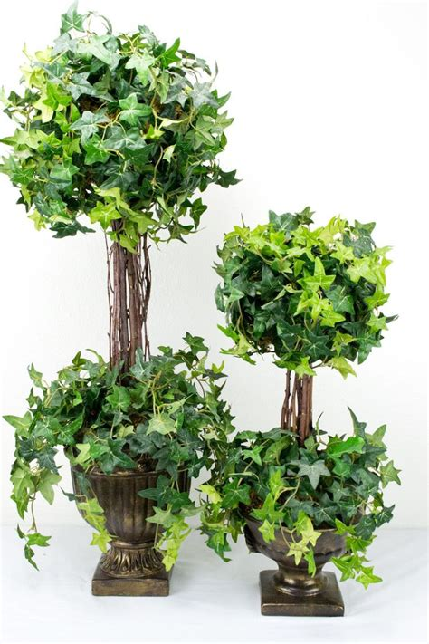 tuscany topiary decor 2 pack