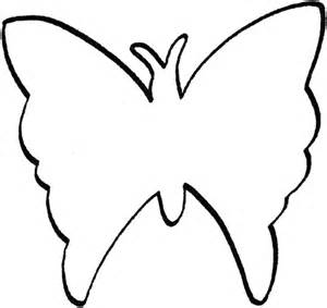 Butterfly Outline Printable by Butterfly Outline Template Butterfly