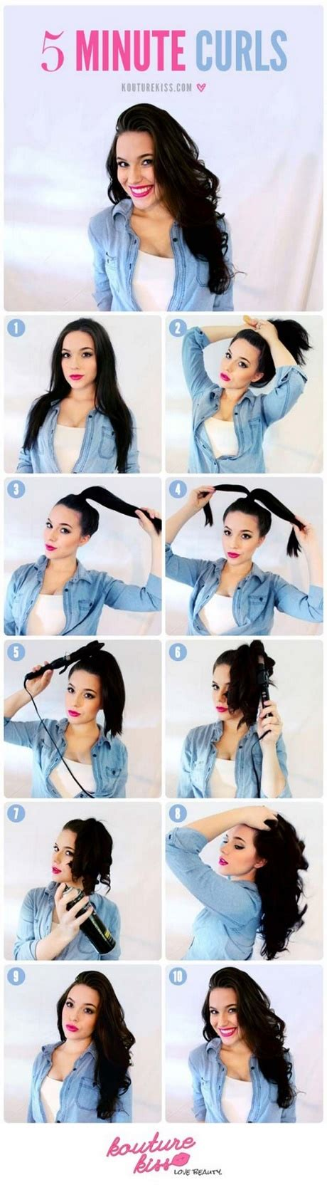 5 Minute Hairstyles For Hair by Best 5 Minute Hairstyles For Hair Photos Styles