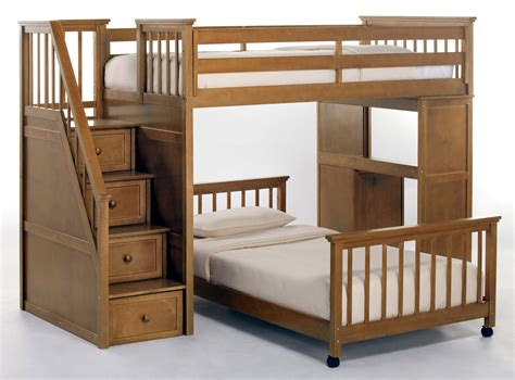 Bunk Beds With Two Desks Bunk Bed With Desk Bunk Bed With Desk And Stairs