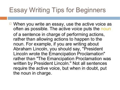 tips for writing dissertation essay writing tips for beginners by helene kozma