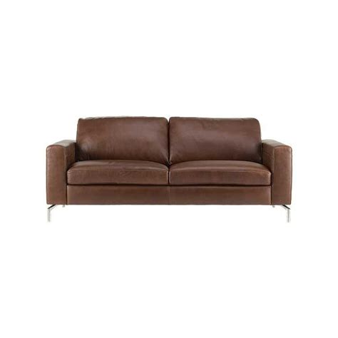 affordable modern sofa leather sectional and ottoman