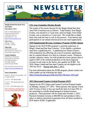 newsletter samples   template
