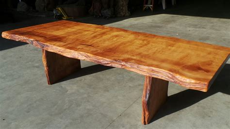 rustic wood dining table rustic dining tables live edge wood slabs redwood burl