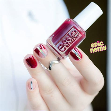 wine colored nails best wine colored nails of 2018 nailspiration