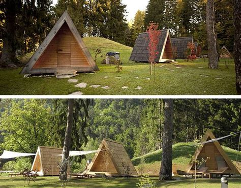 How To Build A Tent Cabin by Prefab A Frame Wooden Cabins Are Made For Eco Friendly