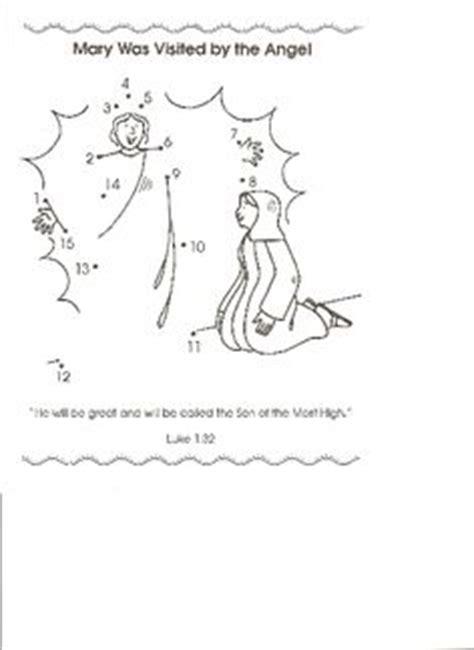 pin by elizabeth metzler on lesson plan ideas pinterest puzzle angel gabriel visits mary kids korner