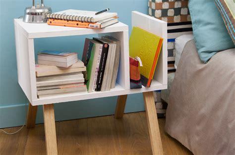 Faire Une Table De Chevet by Cr 233 Er Une Table De Chevet Scandinave Diy Family