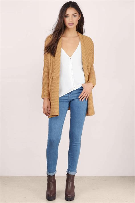 Color Cardigan cheap camel cardigan oversized cardigan camel cardigan tobi gb