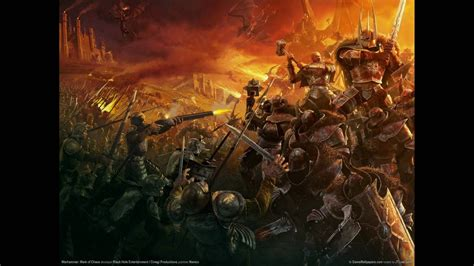 warhammer soundtrack mark  chaos youtube