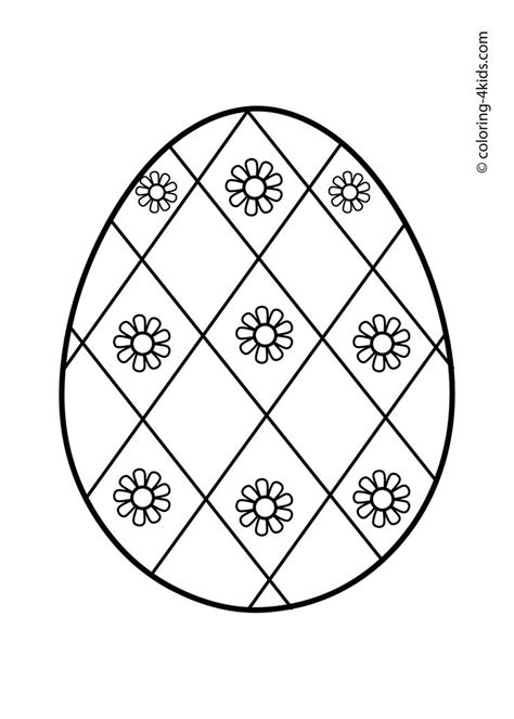 preschool easter egg mandala coloring 4 171 funnycrafts 561 best images about drawings and colorings on pinterest