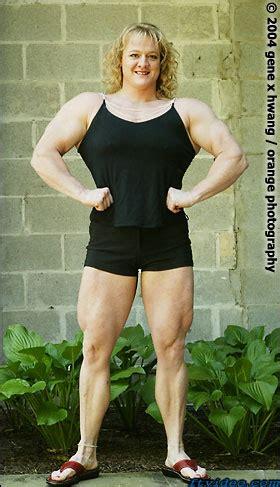 genex magazine gt female muscle shawna walker larissa