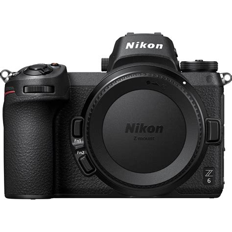 nikon z6 mirrorless digital z 6 1595 b h