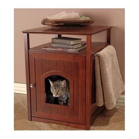 cat litter box table litter box furniture hidden cat dog bed side table