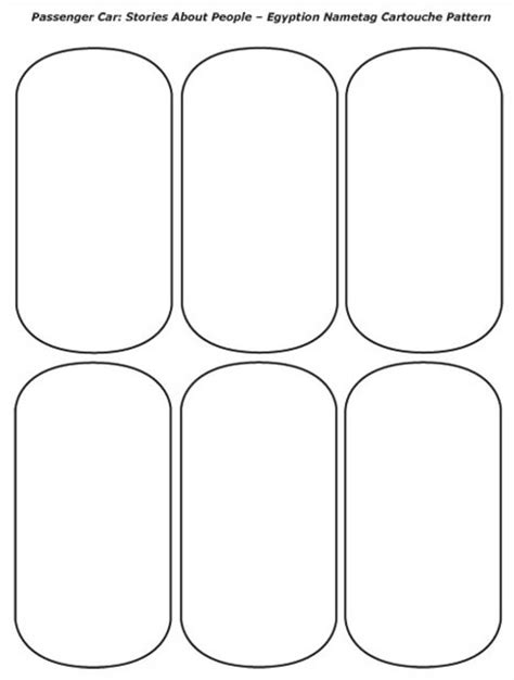 cartouche template printable elementary programs chapter tslac