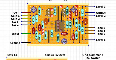 layout grid clippings guitar fx layouts mesa boogie grid slammer