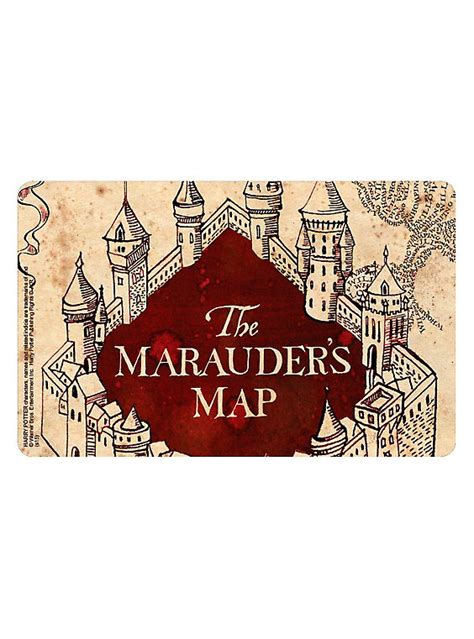 Harry Potter Gift Card - harry potter the marauder s map gift card hot topic
