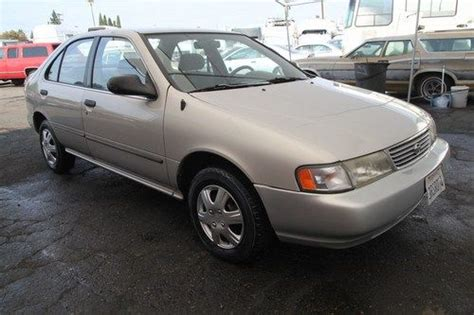 1996 nissan transmission purchase used 1996 nissan sentra gxe automatic
