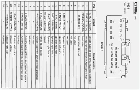 2005 ford focus radio wiring diagram vivresaville 2005