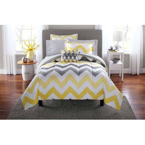 yellow bed in a bag yellow and grey bedding best 25 yellow comforter set ideas