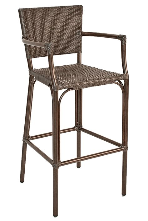 outdoor aluminum bar stools florida seating safari outdoor commercial aluminum patio