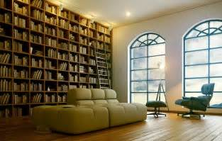 7 sophisticated modern home library interior design ideas